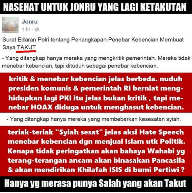 Bisnis E-Hate Kader PKS Jonru Ginting