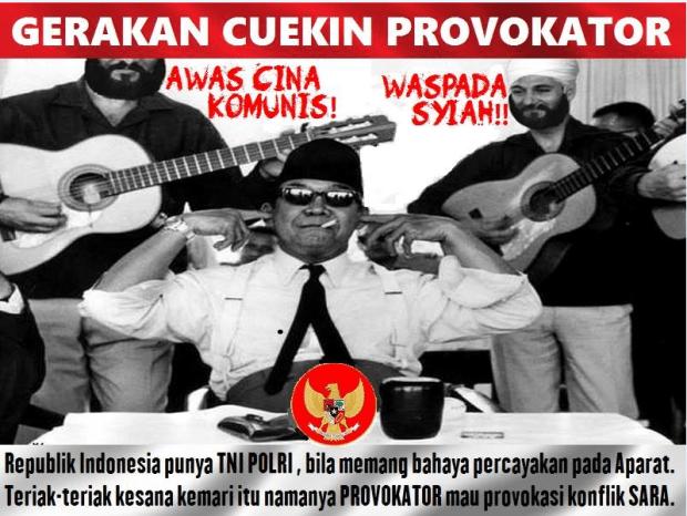 Gerakan Cuekin Provokator