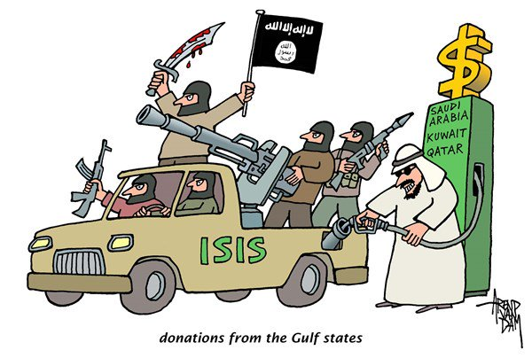 Donatur ISIS di Suriah