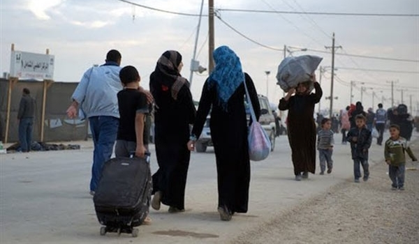 Pengungsi Suriah Kembali Pulang Ke Provinsi Selatan Aleppo Setelah Terusirnya Para Teroris