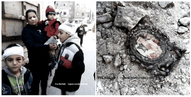 korban serangan bom