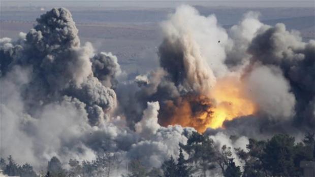 Serangan-Udara-AS-Di-Kobani-Suriah