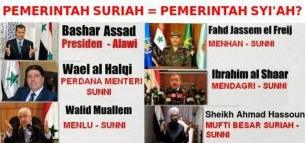 Bashar Assad Bukan Syiah