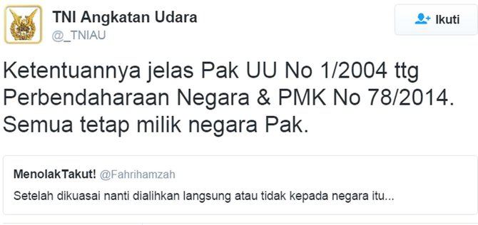 TNI AU 1