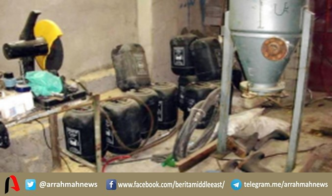 HEBAT! Pasukan Irak Berhasil Kuasai Pabrik Kimia Besar Milik ISIS