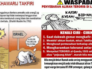 Ciri-ciri Khawarij dan Teroris