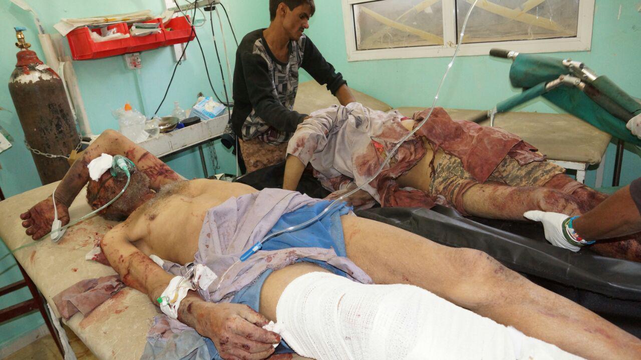 Ngabalin Stroke: VIDEO: Ngerinya Serangan Terbaru Saudi Ke Yaman Utara