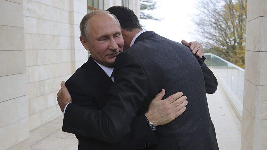 Hadiah Rahasia Bashar Assad untuk Putin