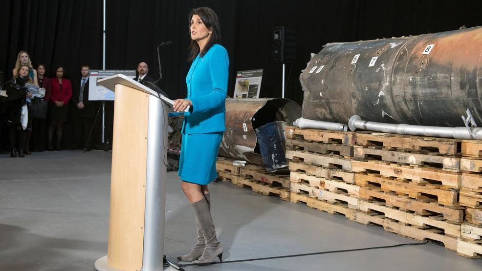 Para Ahli AS Cemooh Presentasi Haley soal Bukti Rudal Yaman dari Iran