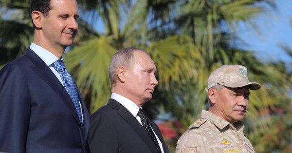 Dari Pangkalan Hmeimim, Putin Perintahkan Penarikan Pasukan Rusia