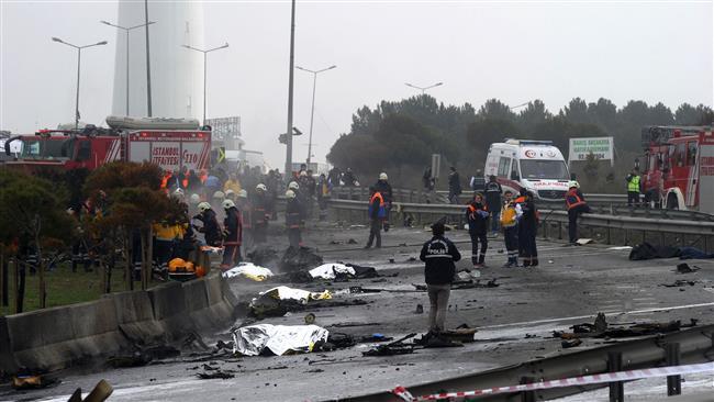 Pesawat Militer Turki Jatuh, Tiga Tentara Tewas