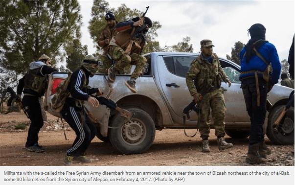 Militan Suriah Ngemis Dana CIA untuk Perangi Iran