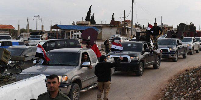 Angkatan Kedua Pasukan Relawan Suriah Masuki Afrin