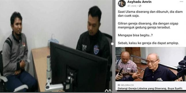 Hina Buya Syafii Maarif, Asyhadu Amrin Pasukan Cyber Army PKS Tercyduk