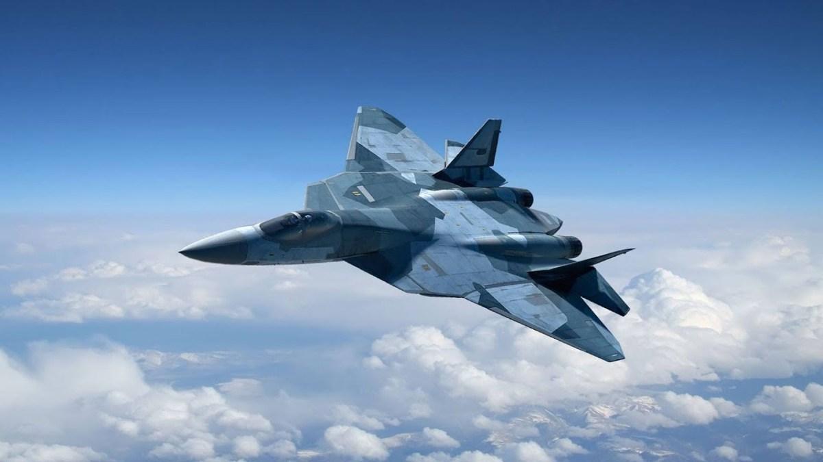 Pesawat Siluman Rusia Su-57 Terlihat di Langit Suriah: Video