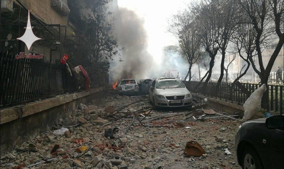 Setiap Hari, Puluhan Roket Ditembakkan ke Damaskus dari Ghouta Timur