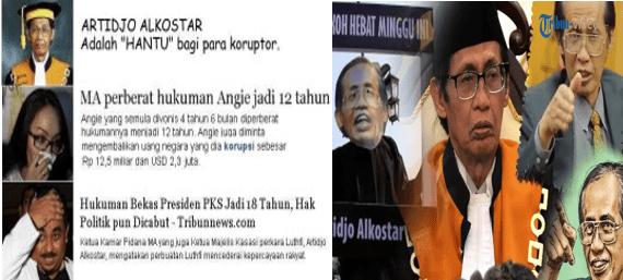 Denny Siregar: Menanti Palu 'Maut' Artidjo Alkostar Untuk Ahok