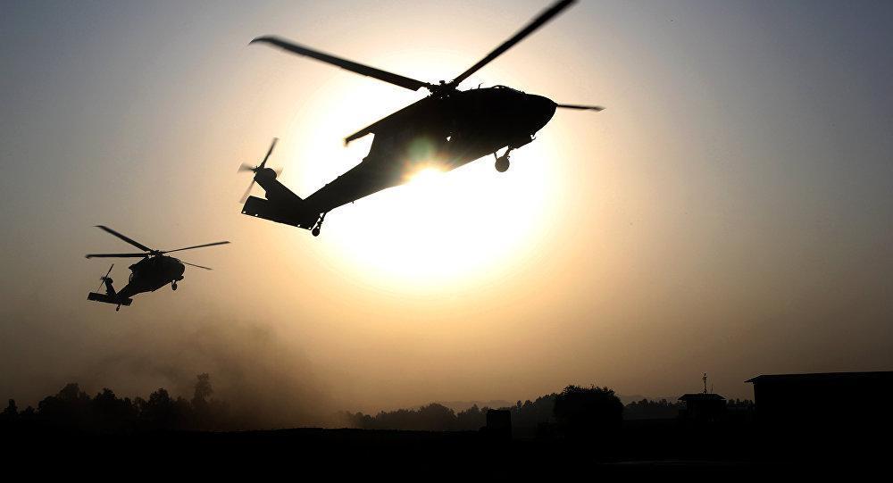 Helikopter Militer AS Evakuasi Pemimpin ISIS di Suriah