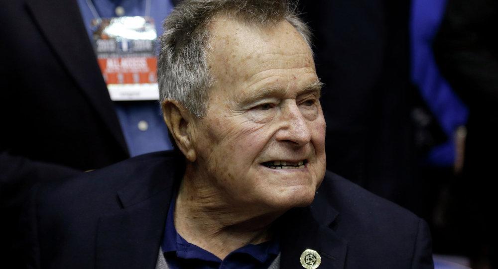 Tertular Infeksi, George HW Bush Dilarikan ke Rumah Sakit