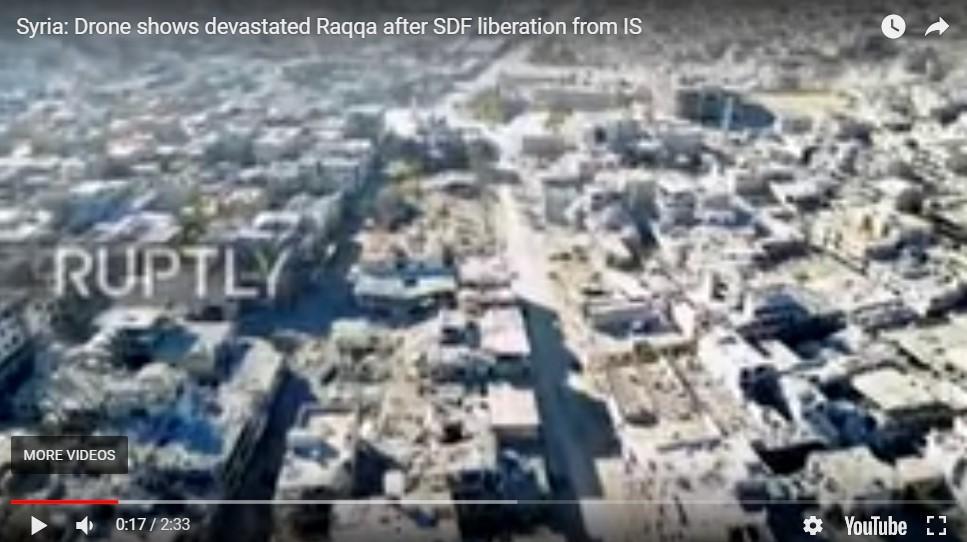 Rusia Beberkan Kejahatan AS di Raqqa dalam Pertemuan DK PBB