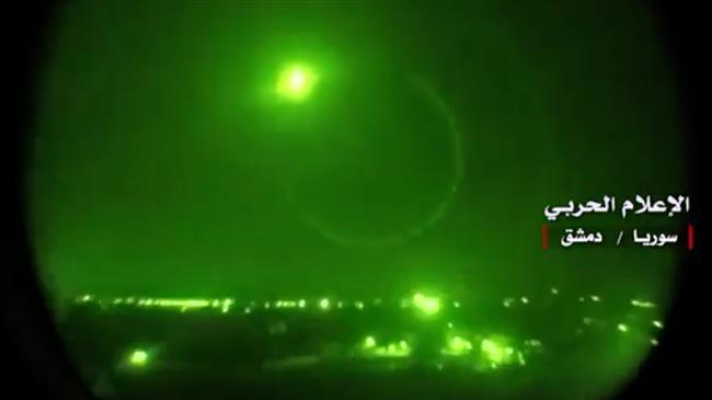 Sistem Pertahanan Udara Suriah Cegat Serangan Rudal ke Homs