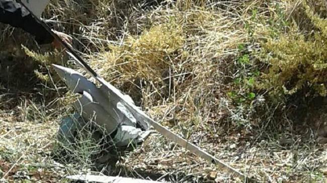 Drone_Israel_Jatuh_Di_Suriah