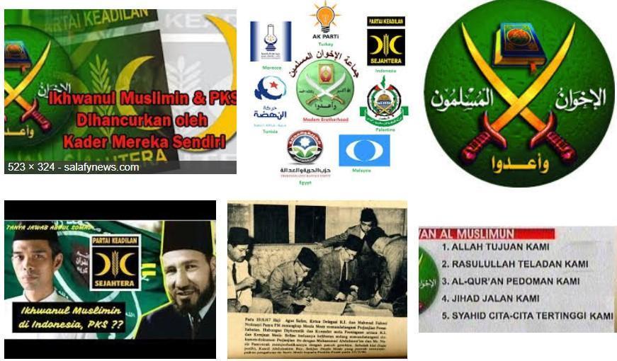 Ikhwanul Muslimin Benalu di Negara-negara Muslim