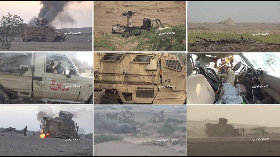 Dalam 6 Hari Lebih dari 44 Kendaraan Militer Koalisi Saudi Dihancurkan di Hodeida