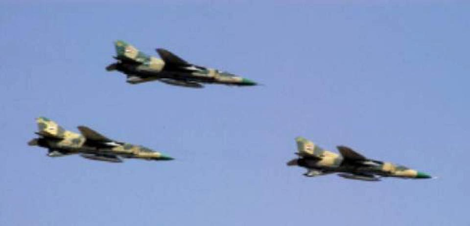 Angkatan Udara Suriah Luncurkan Serangan Besar di Quneitra dan Daraa