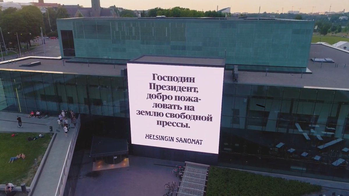 Pertemuan Trump-Putin Jadi Olok-olokan Media Finlandia