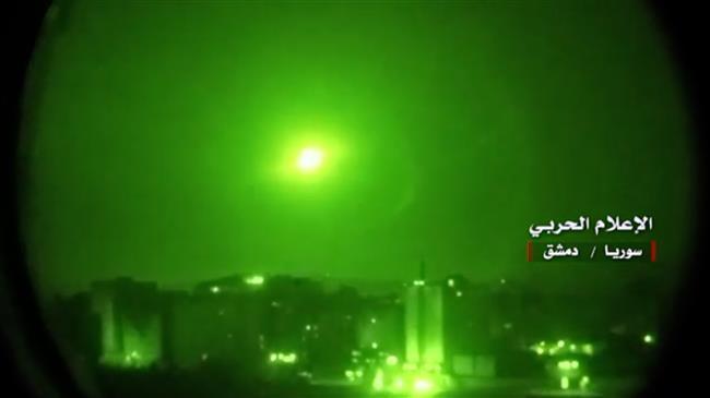 Rudal Israel Kembali Serang Pangkalan Militer Suriah di Aleppo