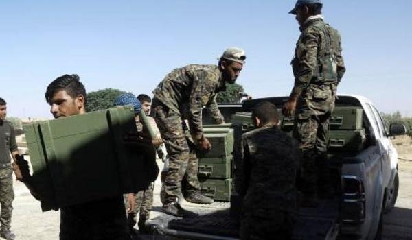 AS Bersama SDF Kawal Konvoi Senjata ke Daerah Kekuasaan ISIS