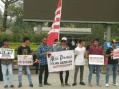Aksi Damai Warga Kalbar Tolak #2019GantiPresiden