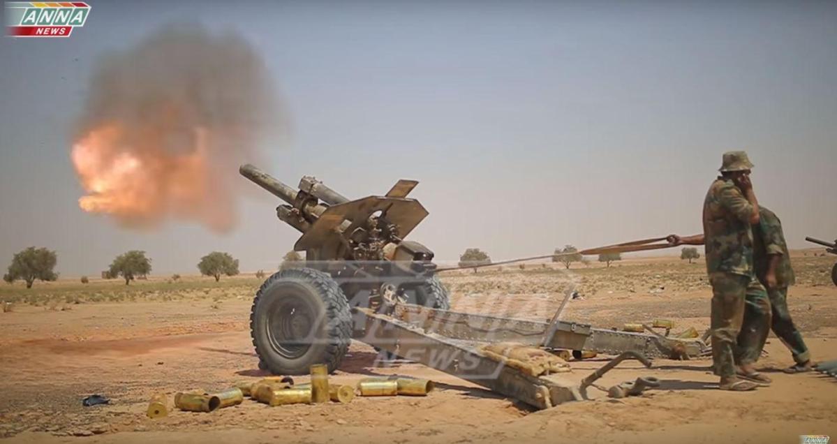 VIDEO: Tentara Suriah Serang Posisi Teroris di Idlib Jelang Operasi Skala Besar