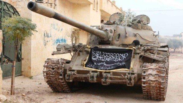 Pemberontak Serbu Pos Tentara Suriah Dekat Perbatasan Turki