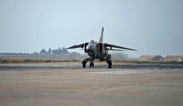 Angkatan Udara Suriah Bombardir Gerakan ISIS di Homs