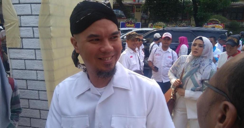 Jadi Tersangka, Ahmad Dhani Malah Bandingkan Pancasila dengan Cebong!