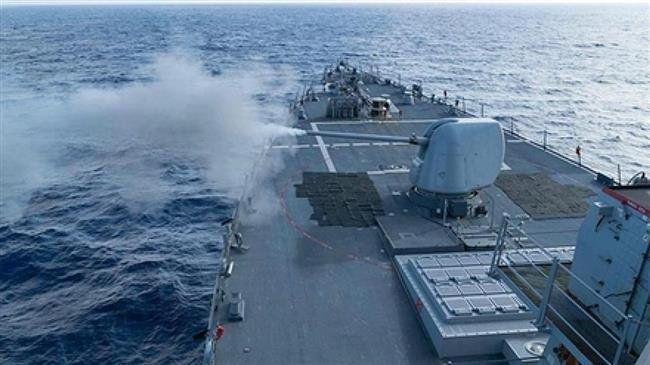 Kapal Perang AS dan China Bersitegang di Selat Taiwan