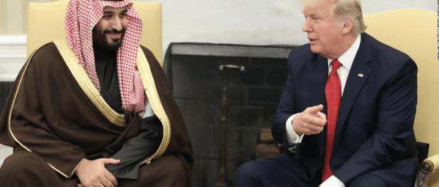 Bin Salman dan Trump