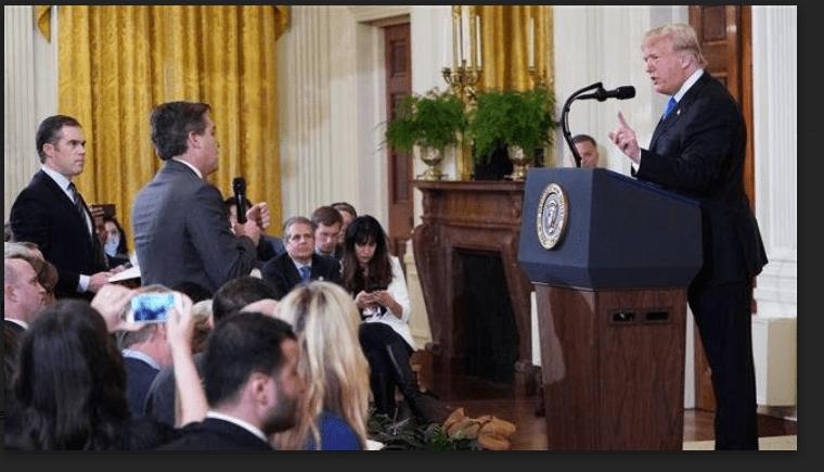 CNN Gugat Trump dan Staf Gedung Putih Soal Larangan Liputan