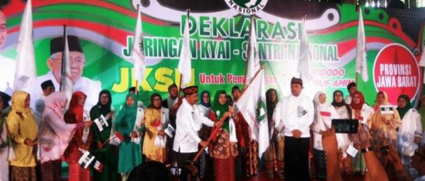 Deklarasi dukung Jokowi di Jabar