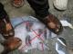 Demonstran Gaza Injak Poster Wajah Lieberman
