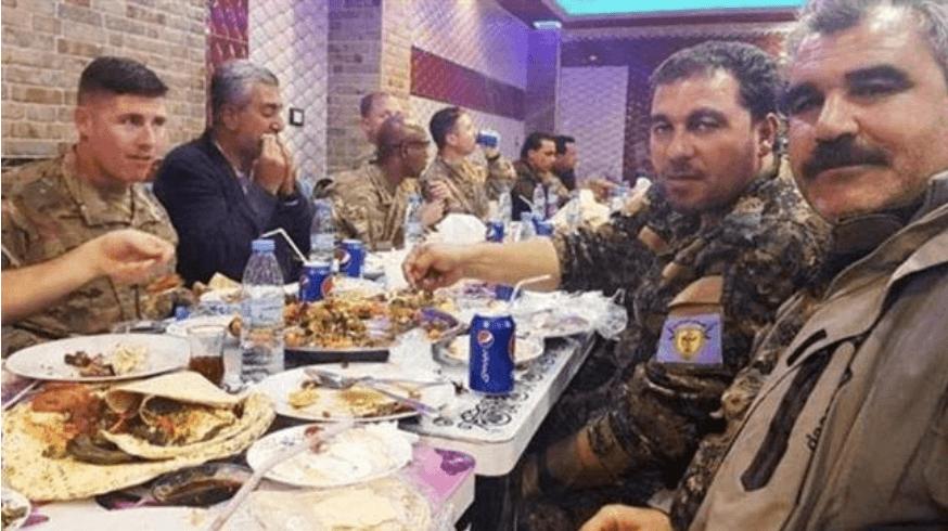 Menhan Turki Geram Beredar Foto Dinner Pasukan AS dengan Militan Kurdi