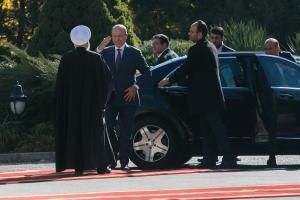 Hassan Rouhani sambut presiden Irak