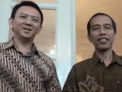 Foto Jokowi dan Ahok