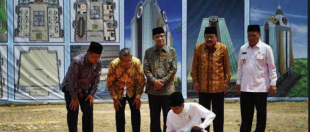 Jokowi Resmikan Kampus Muhammadiyah