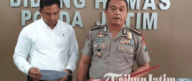 Kabid Humas Polda Jatim dan Kasubit Cyber