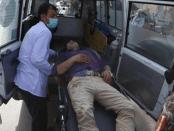 Korban Bom Kabul
