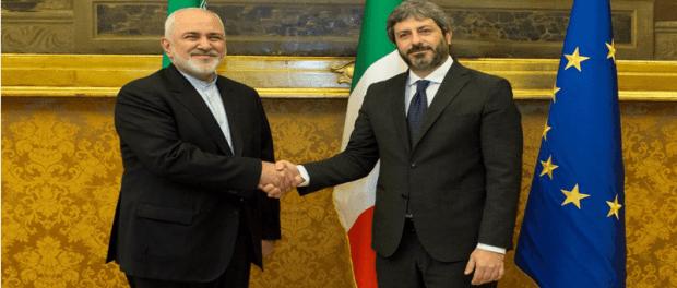 Menlu Iran dan Kadin Italia