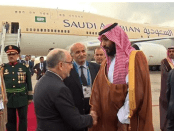 Putra Mahkota Saudi di Argentina